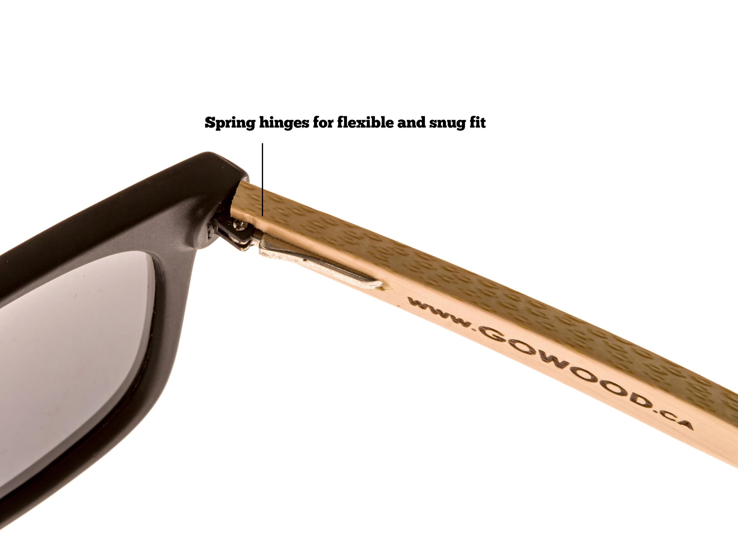 classic wayfarer sunglasses hinge