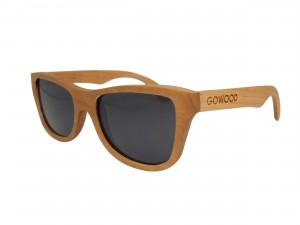 Cherry cat eye wood sunglasses