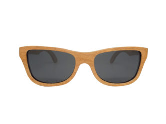 front cherry wooden sunglasses