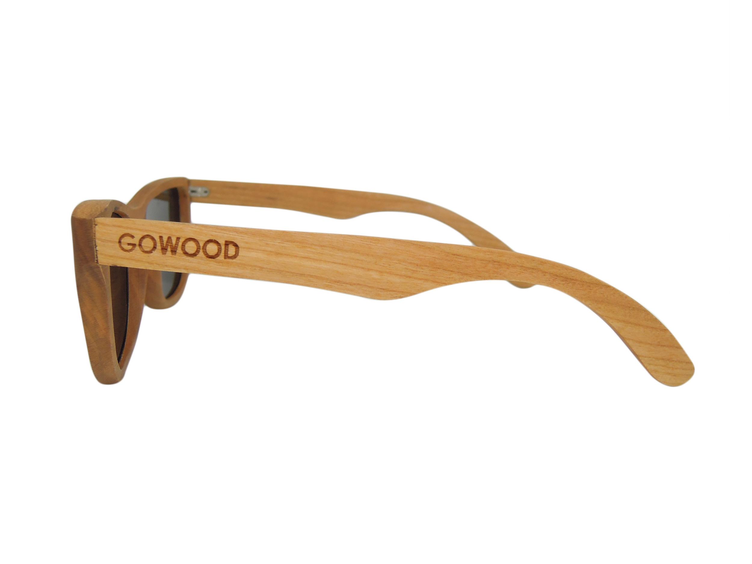 cherry wooden sunglasses