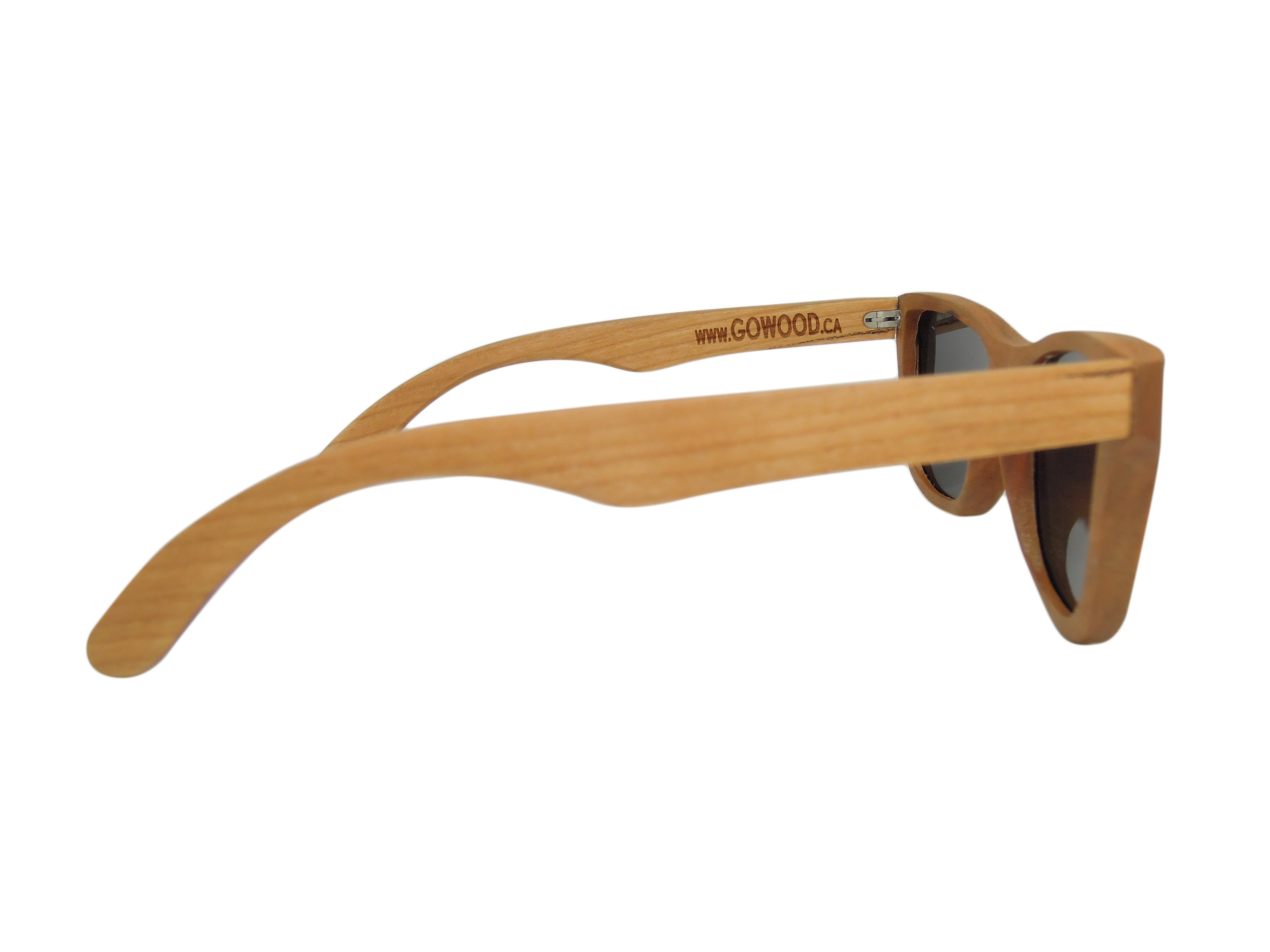 cherry wooden sunglasses