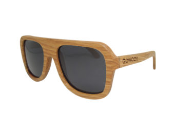 aviator wood sunglasses