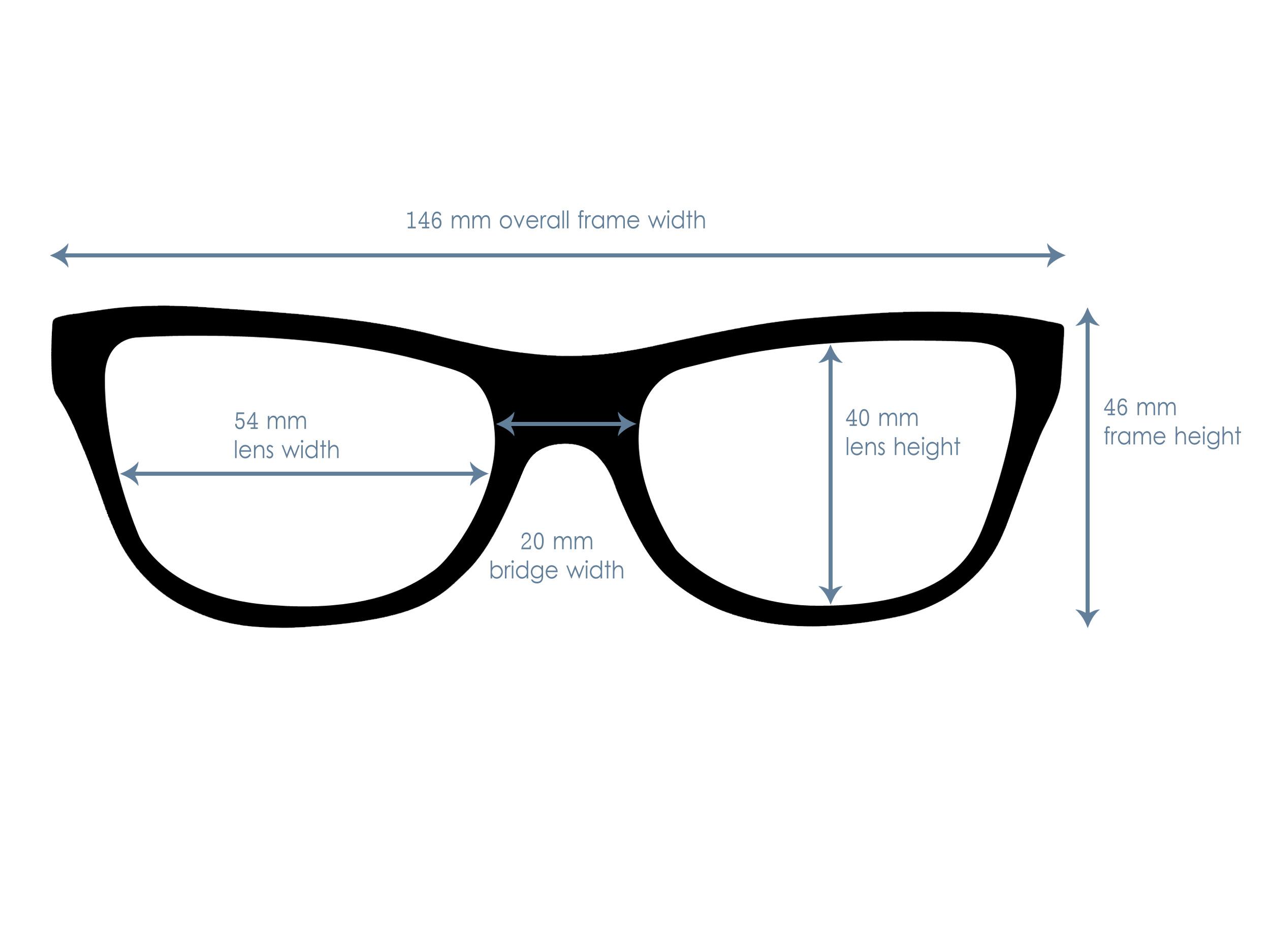measurements cherry wood sunglasses