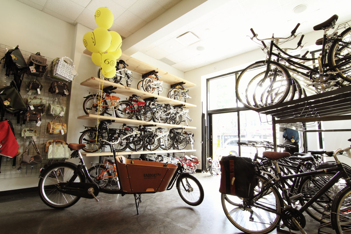 Dumoulin Bicyclettes shop