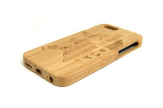 iPhone 6 phone case world map right