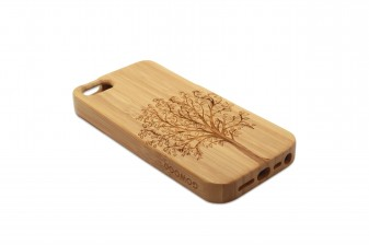 iPhone 5 phone case bamboo tree left
