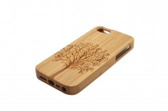 iPhone 5 phone case bamboo tree right