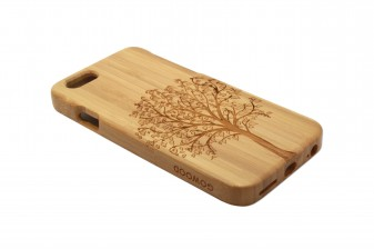 iPhone 6 phone case bamboo tree left