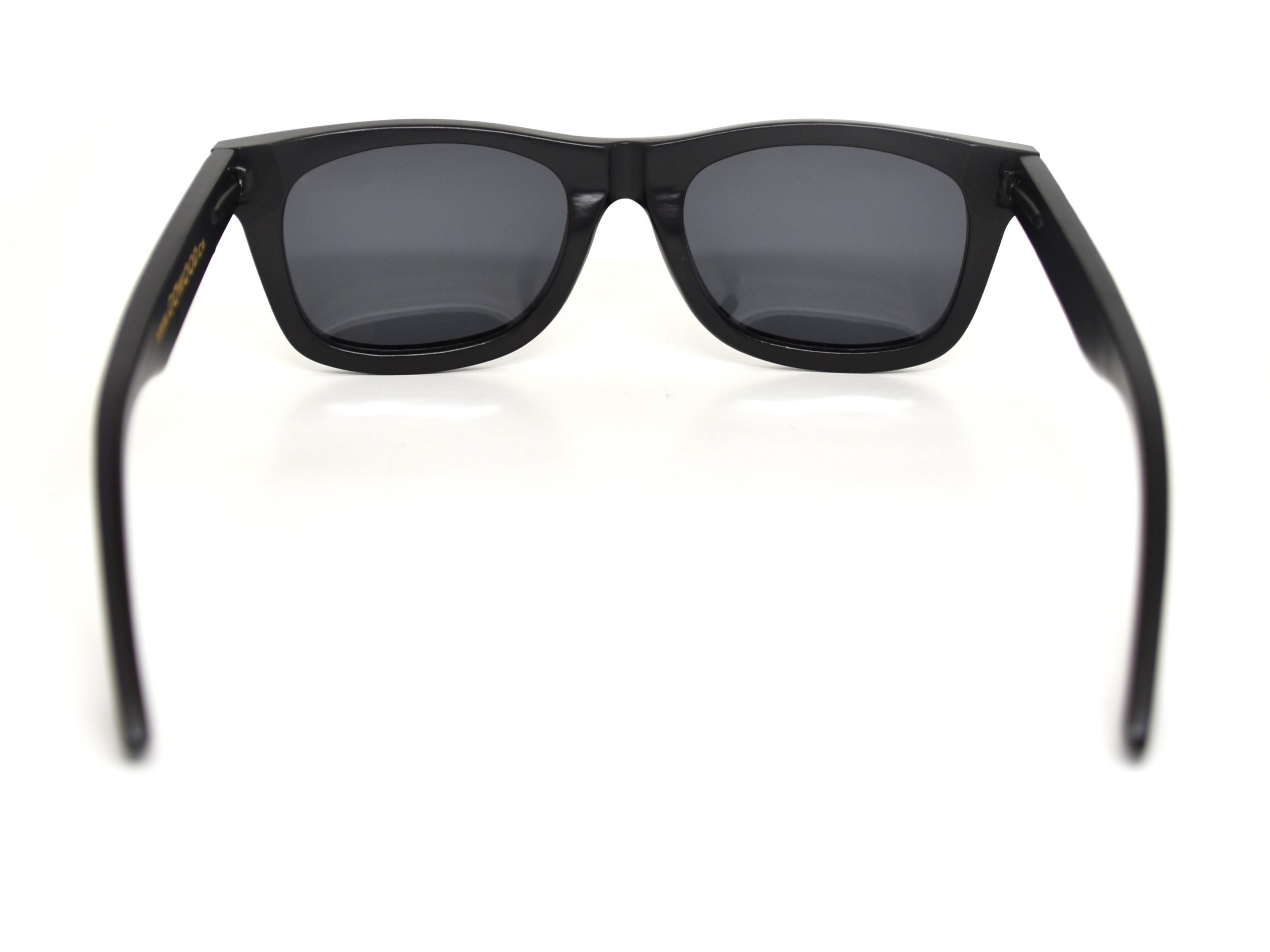 wayfarer style sunglasses black rear