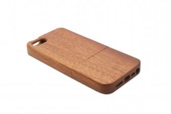 iPhone 5 phone case rosewood left
