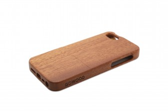iPhone 5 phone case rosewood right