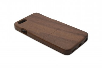 iPhone 6 phone case walnut left