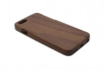iPhone 6 phone case walnut left