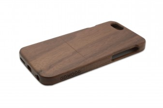 iPhone 6 phone case walnut right