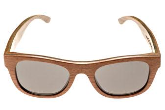 Bubinga and ebony wood sunglasses New York - front