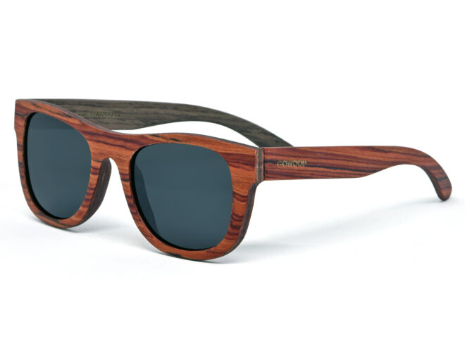 rosewood and walnut wood sunglasses