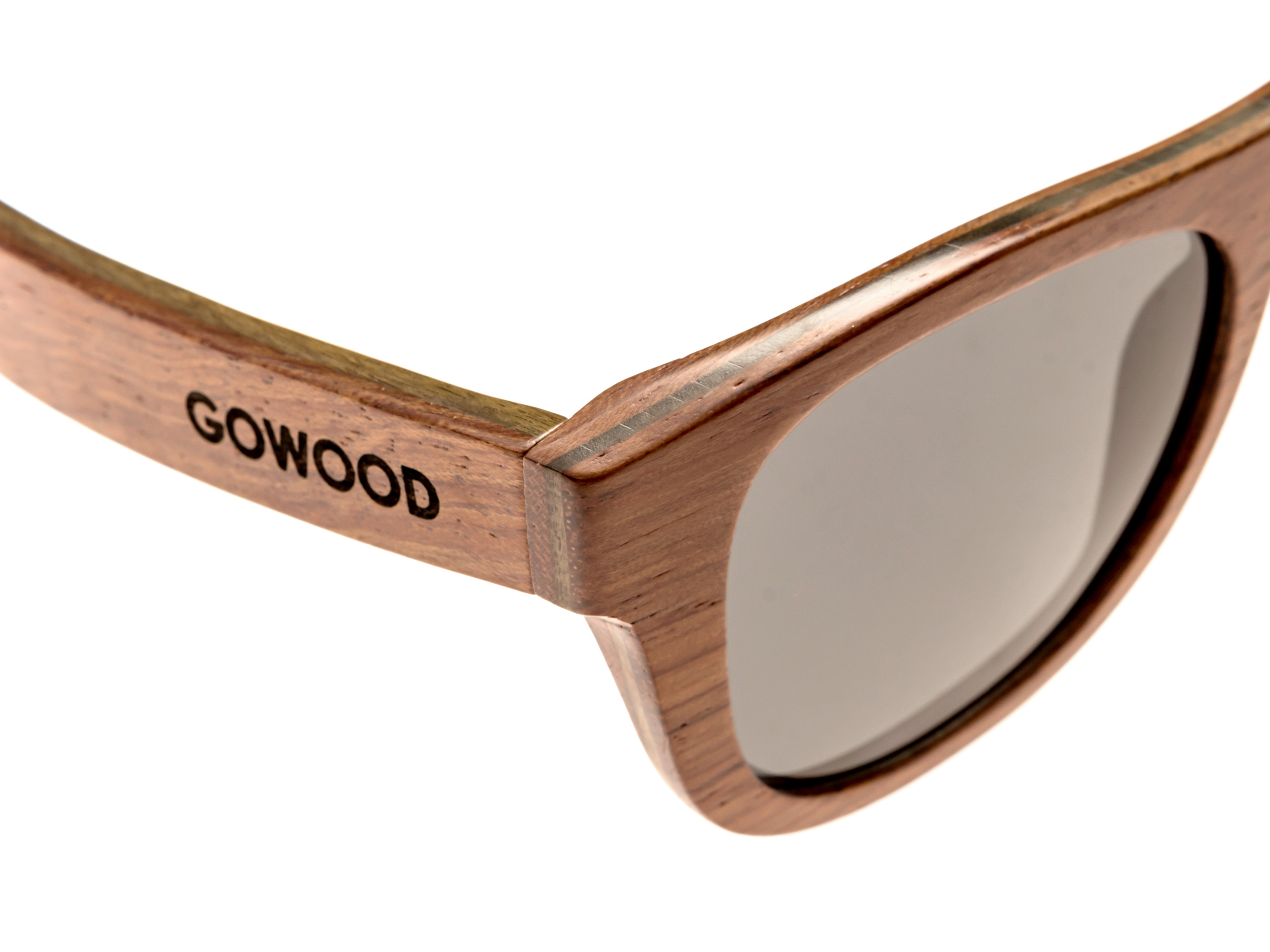 Bubinga and ebony wood sunglasses New York - treated wood