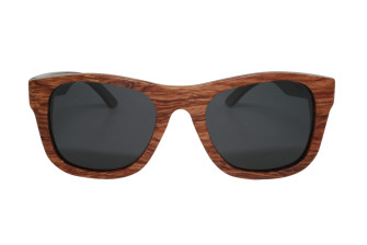 wood sunglasses bubinga front