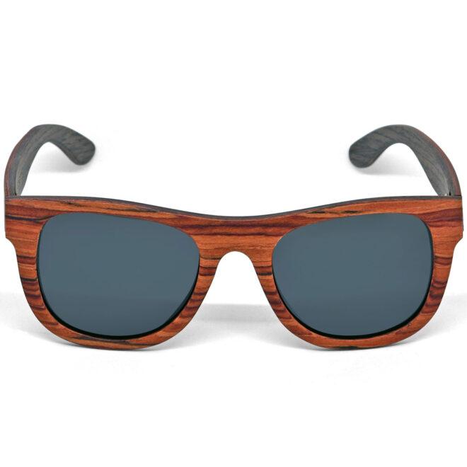 Rosewood walnut wood sunglasses