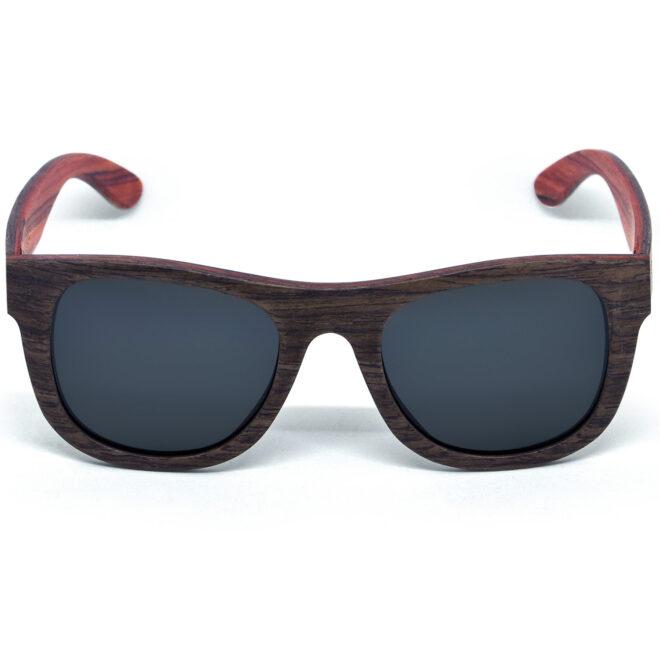 Walnut and rosewood sunglasses