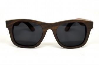 newyork2 wood sunglasses front