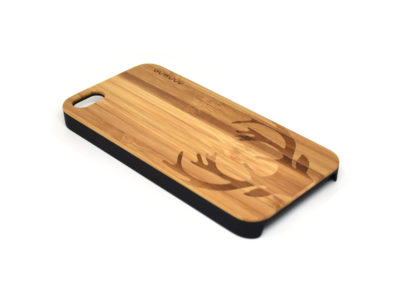 iPhone 5 case deer left angle