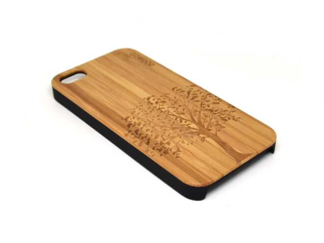 iPhone 5 case tree left angle