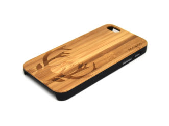 iPhone 5 case deer right angle