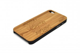iPhone 5 case tree right angle