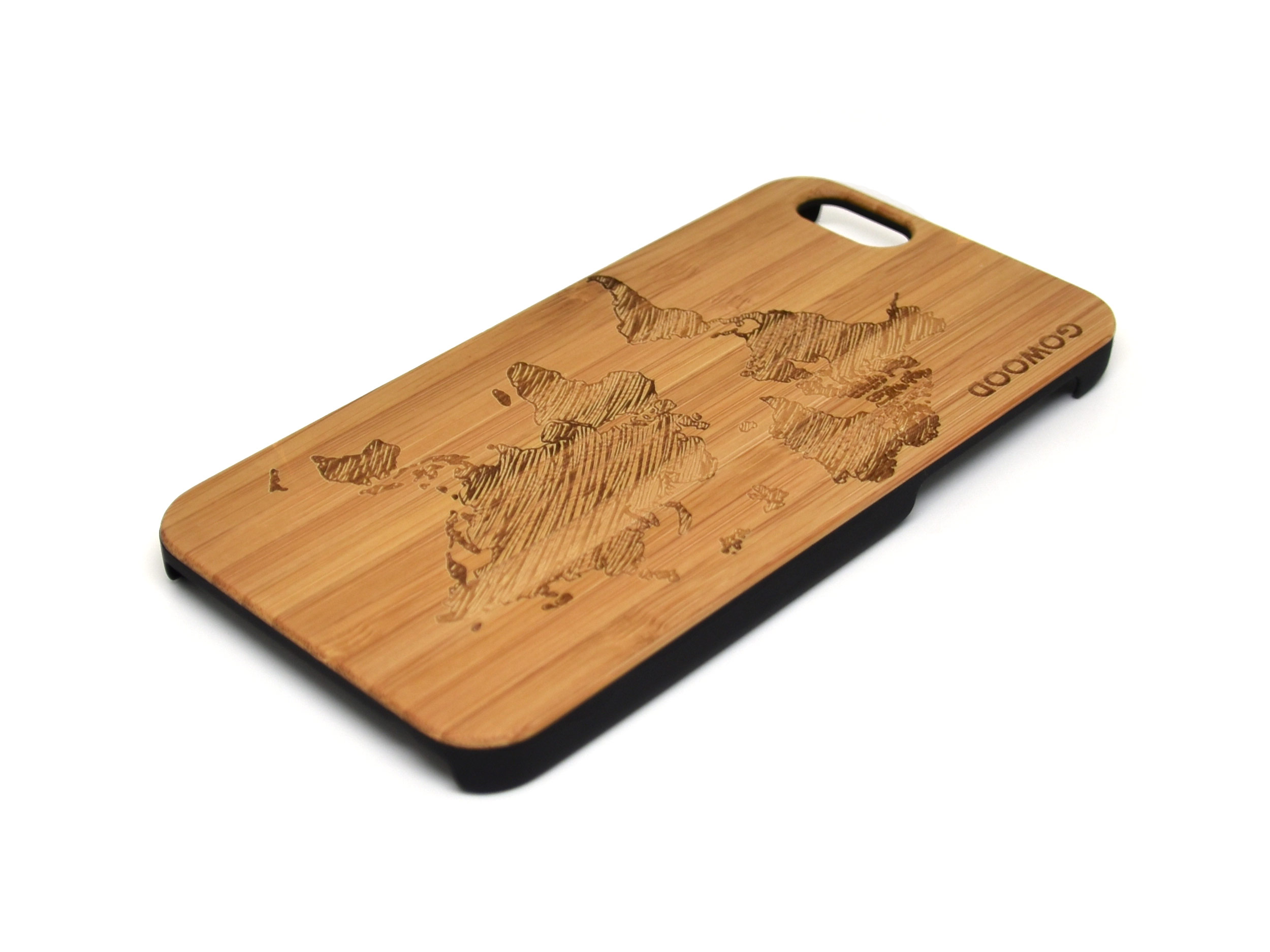 iPhone 6 case world map right angle