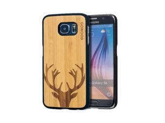 Samsung Galaxy S6 case bamboo deer
