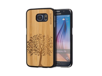 Samsung Galaxy S6 case bamboo tree