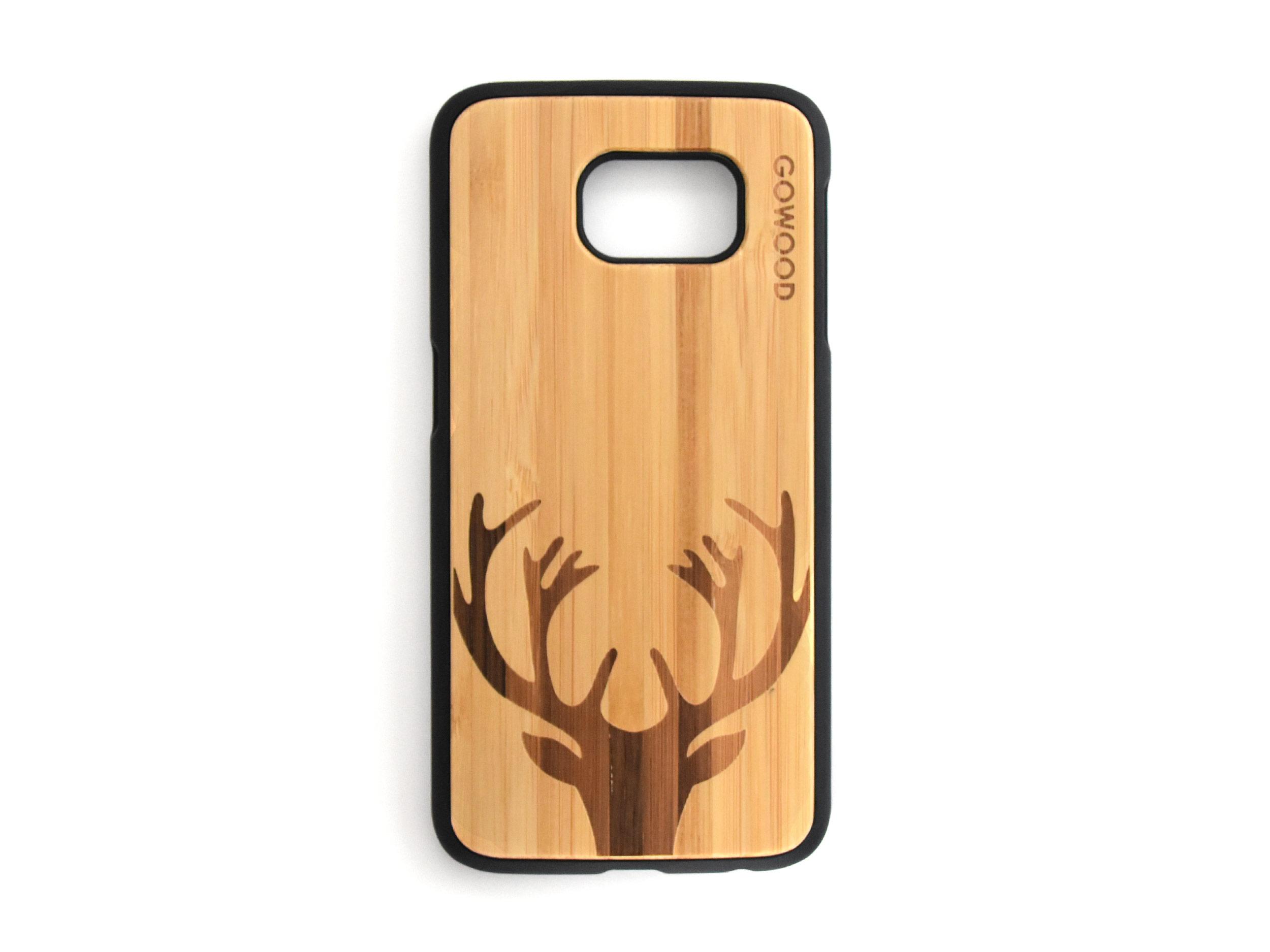Samsung Galaxy S6 case top deer