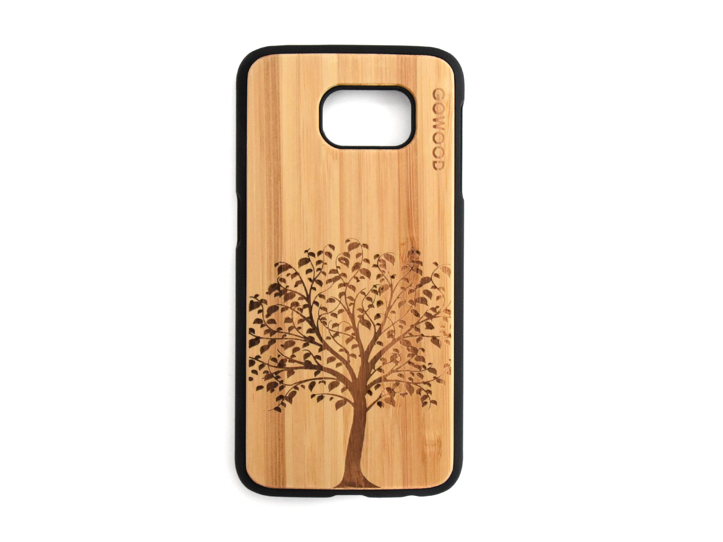 Samsung Galaxy S6 case top tree