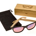 classic wayfarer sunglasses blue mirrored lenses set2