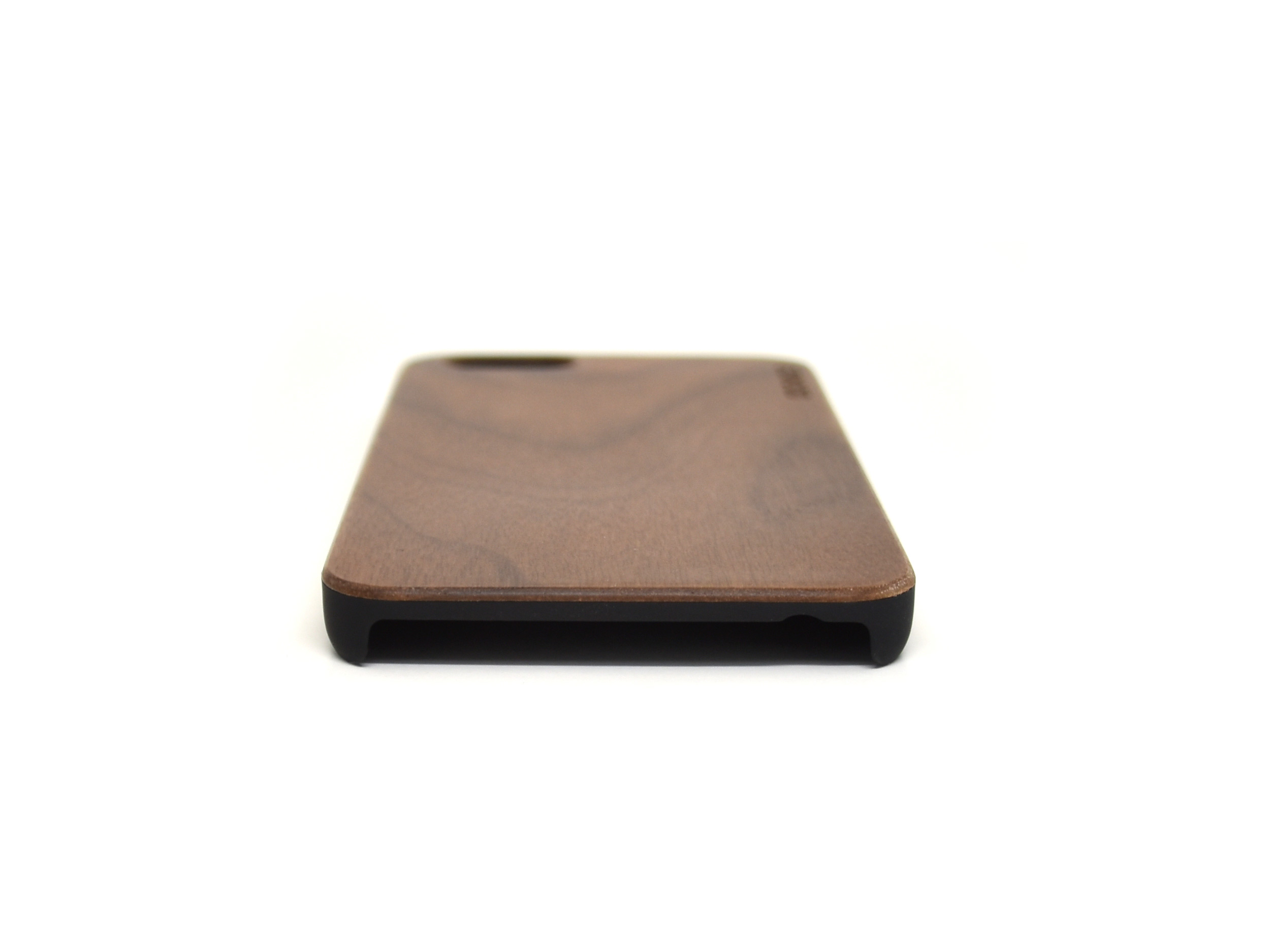 iPhone 6 case walnut wood bottom