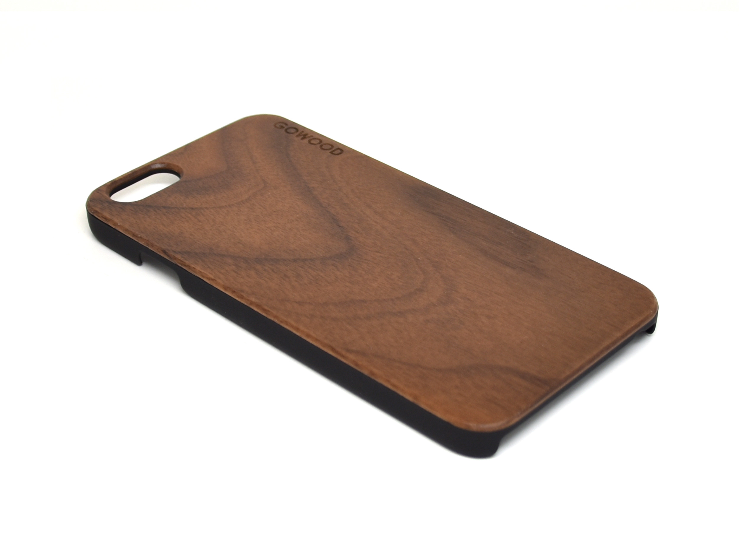 Iphone 6 Case Walnut Wood With Polycarbonate Sides Gw