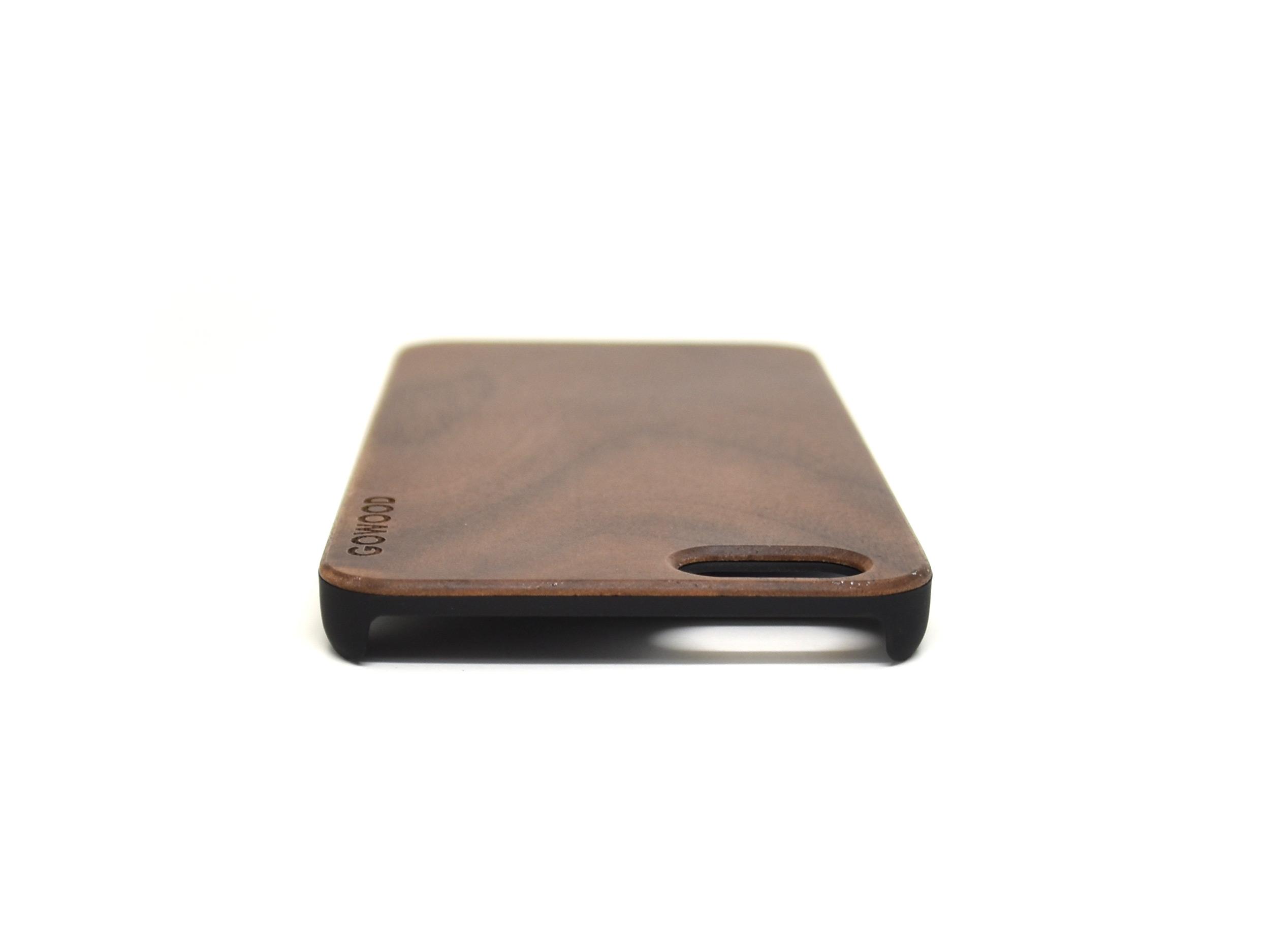 iPhone 6 case walnut wood top
