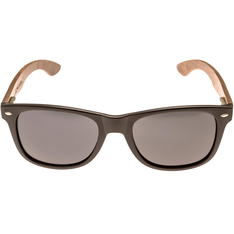 Wood wayfarer sunglasses front frame
