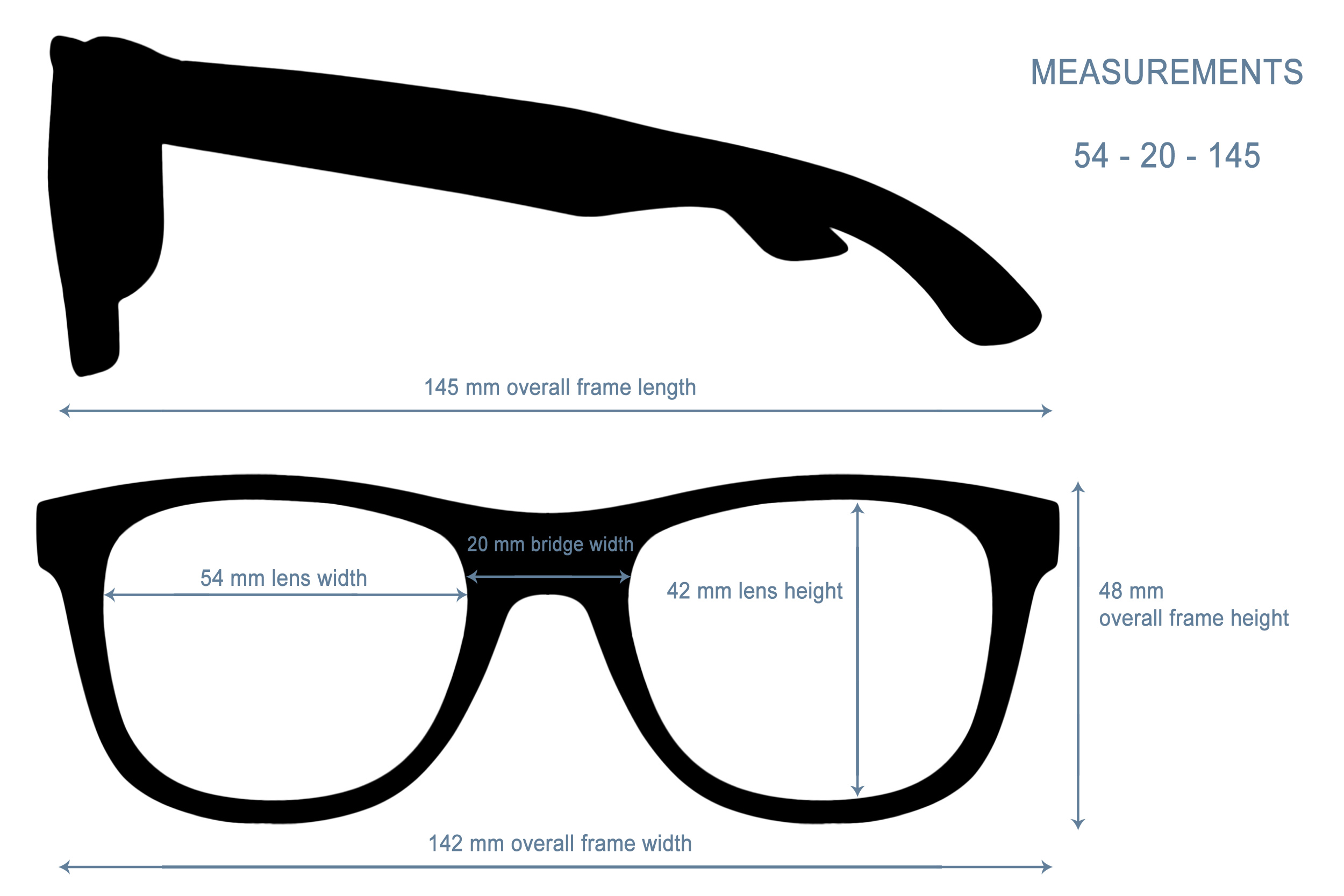 classic wayfarer sunglasses specs