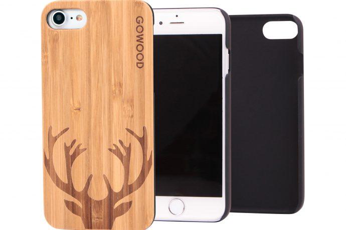 iPhone 7 wood case deer main