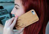iPhone 7 wood case deer use 3