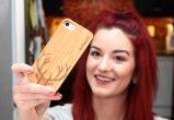 iPhone 7 wood case deer use 4