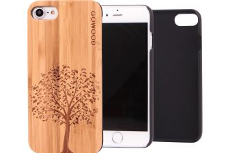 iPhone 7 wood case tree main