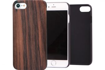 iPhone 7 wood case walnut