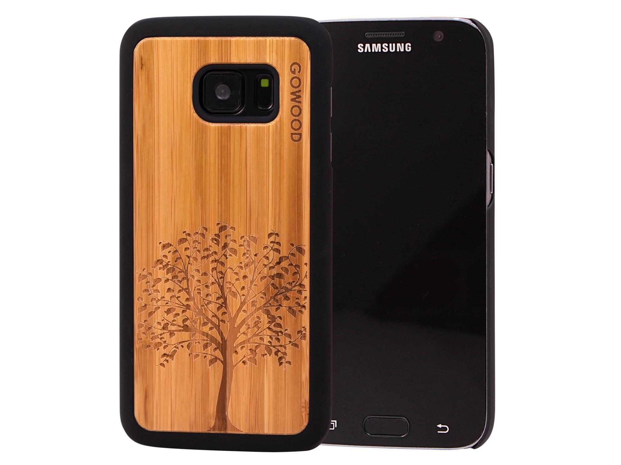 Samsung Galaxy S7 wood case