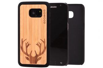 Samsung Galaxy S7 wood case deer main