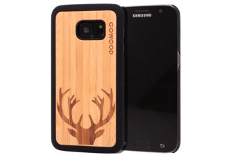 Samsung Galaxy S7 wood case deer main