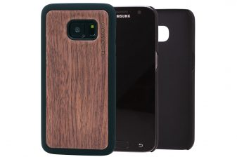 Samsung Galaxy S7 wood case walnut main