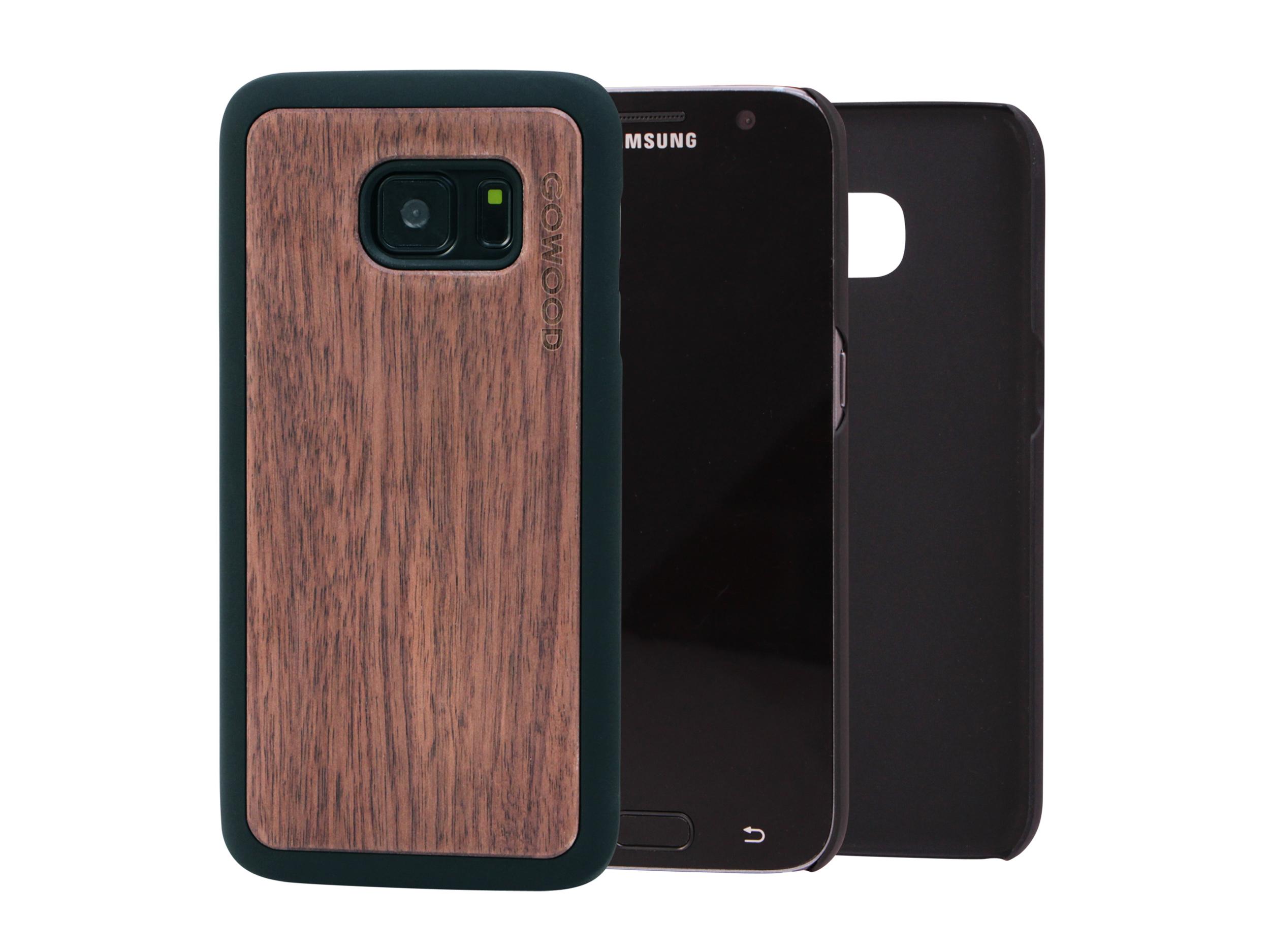 Samsung Galaxy S7 hoesje walnoot main
